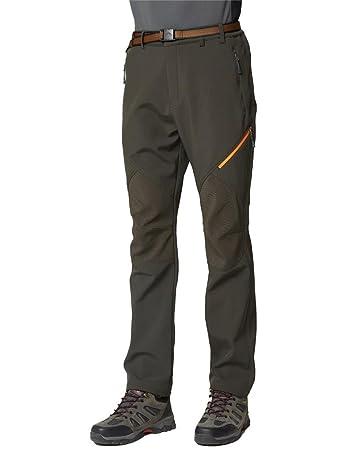 VERTAST Damen winddichtes wasserabweisendes hochflexibles thermisches Fleece-Wandern Camping-Outdoor-Hose Softshell-Hose
