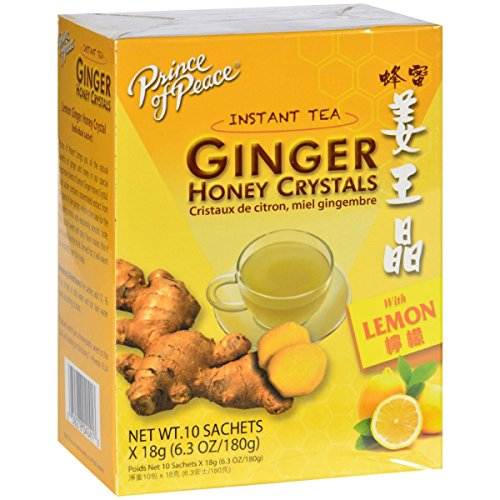 Prince of Peace Ent., Inc. Ginger Honey Crystals 10 sachets ()