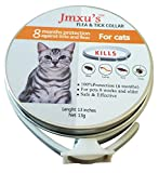 Pet Flea Collar, 8 Month Protection, for Cat and Kittens,Waterproof,13 inches