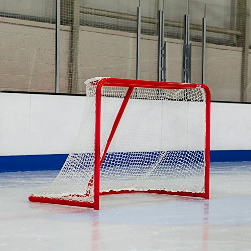 Professional Ice Hockey Goal - Top Quality Hockey Goal - [Net World (Pro Hockey Net)