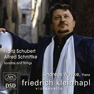 Selected Lieder-Arpeggione/Vc: Schubert, Schnittke: Amazon ...