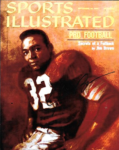 Jim Brown Cleveland Browns 1960 Sports Illustrated Glossy Cover 8 x10 Photo