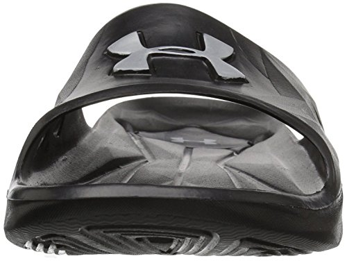 III Metallic Silver Chanclas Armour Under Black 001 Negro Locker para SL 001 UA Hombre M KBAgAIq