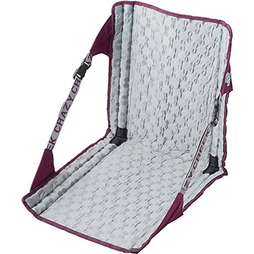 Crazy Creek Products Hex 2.0 Original Chair, Purple/Grey, One Size