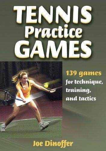 Tennis Practice Games 1st edition by Dinoffer, Joe (2003) Paperback por Joe Dinoffer