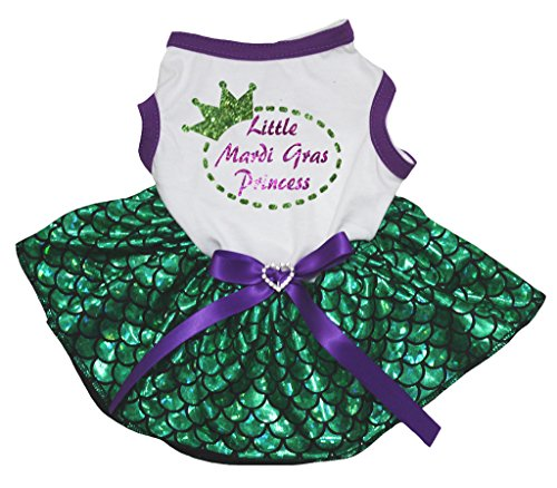 Petitebella Puppy Cloth Dog Dress Little Mardi...