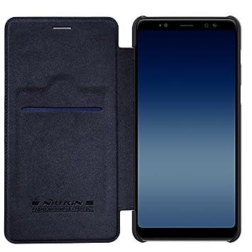 1bc9b30ead4 BCIT Samsung Galaxy A730 / A8 Plus 2018 / A7 2018 Funda - Delgado Suave PU