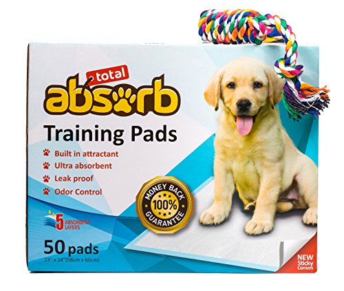 [Total Absorb Puppy Training Pads | Safe For any Breed | Leak Proof Pee Pads | 23