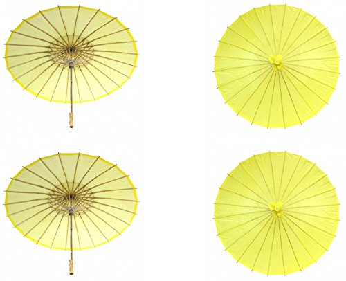 Wedding Favor Ideas For Summer - Koyal Wholesale 32-Inch Paper Parasol, 4-Pack