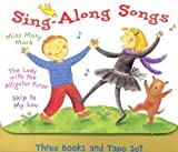 Sing Along Songs (3 Books and 1 Tape Set)