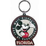 Disney Mickey Florida Vintage Lasercut Keychain