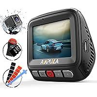 Ampulla Cruiser 1080P+720P Front and Rear Dual Dash Cam