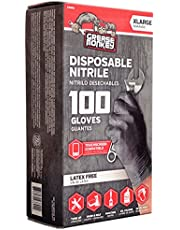 Big Time Products 23892-110 Grease Monkey Disposable Nitrile Gloves (X-Large) - Pack of 100
