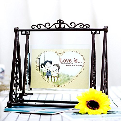 Kevin Photo Frame European Style Creative DIY 5inch/6inch Picture , brown