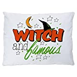 Outdoor Luxury Plush Dog Bed Halloween Witch and Famous Hat