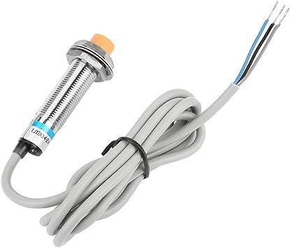 LJ12A3-4-J//DZ Sensor de proximidad capacitivo AC90-250V 4 mm de distancia 2//3 hilos NO//NC Medici/ón del sensor de proximidad capacitivo Detector Sensor de proximidad magn/ético DC6-36V