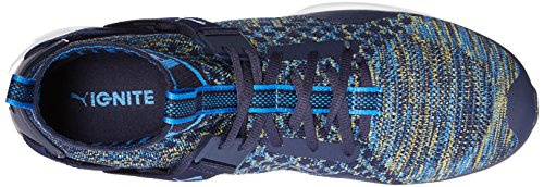 Scarpe Ignite Evoknit Cross-Trainer da uomo, Peacoat-French Blue, 7 M US