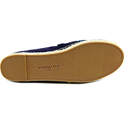 Sam Edelman Womens Maris Moccasin Inky Navy Kid Suede Leather