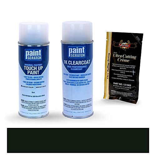 PAINTSCRATCH Black 040/9040 for 2009 Mercedes-Benz E-Class - Touch Up Paint Spray Can Kit - Original Factory OEM Automotive Paint - Color Match Guaranteed