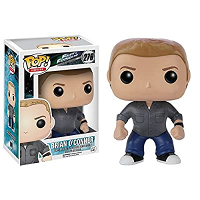 Funko Pop Movies: Fast & Furious-Brian O'Conner Action Figure: Funko Pop! Movies:: Toys & Games