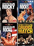 Sylvester Stallone: The Fighting Champ 4-Movie Sports Bundle - Rocky, Rocky III, Rocky IV & Grudge Match with Robert DiNero