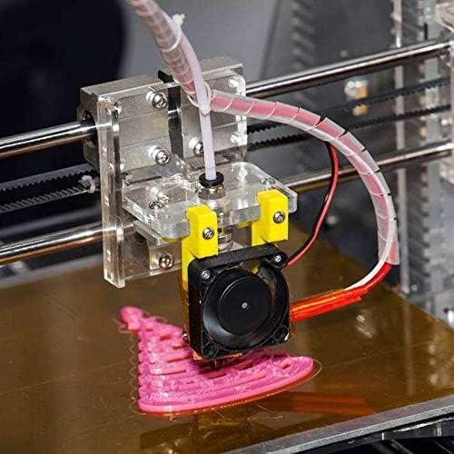 avec 8 Pi/èCes de Raccords Pc4-M6 et 8 Pi/èCes de Raccord de Tube PTFE Pneumatique Droit Male Pc4-M10 pour Imprimante 3D Filament 1 M/èTre Moligh doll 4 Tubes de Tube en T/éFlon PTFE