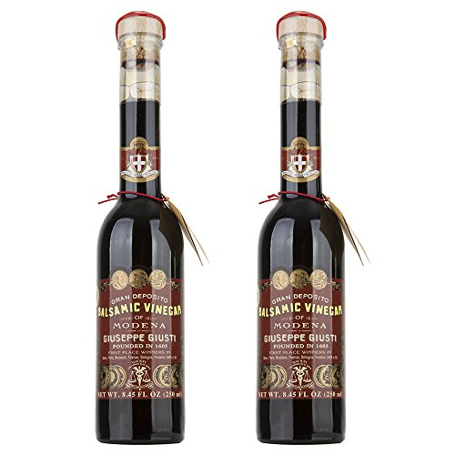 Giuseppe Giusti Riccardo Balsamic Vinegar of Modena IGP 250 ml (Pack of 2)