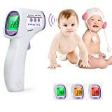 Digital Infrared Temperature Gun InLife Non-contact IR Thermometer for Baby Children Forehead, Body