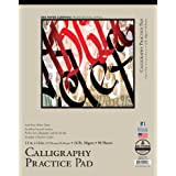 Bee Paper Calligraphy Practice Pad, 11-Inch by 14-Inch