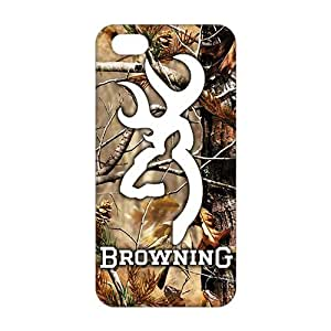Angl 3D Case Cover Browning Logo Phone Case for iphone 5c