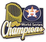 Houston Astros 2017 World Series Champions Trophy Pin - W