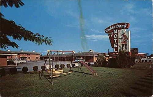 Georgia Ga Postcard (Robin Hood Motel Jonesboro, Georgia Original Vintage)