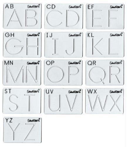 (Alphabet Template Set Uppercase )