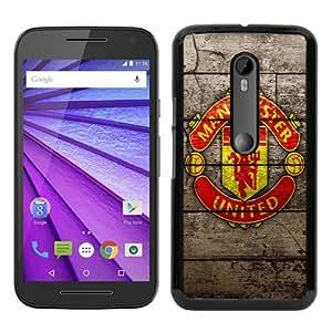 High Quality Manchester United 7 Black Motorola Moto G 3rd Generation Screen Phone Case Unique and Fashion Design