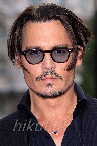 8ab9ee83e877 Amazon.com   High-Season Magic Adventure Johnny Depp Glasses Pirates of the Caribbean  Tinted Glasses Men Sun Glasses Male Retro Red Sunglasses for Men ...