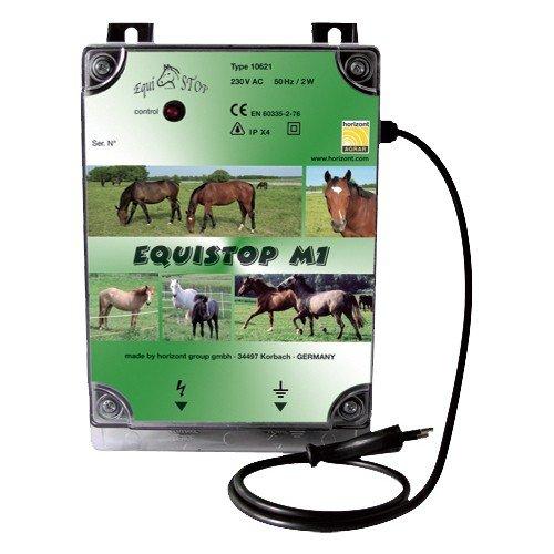 Weidezaun- / Elektrozaungerät equiSTOP M1 Netzgerät, 1J Input, 0,8J max. Output (230V)