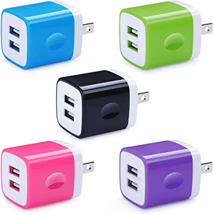 Quick Charge 3.0 Car Charger,HUHUTA 2Pack Universal Fast 3.0 USB Port with 12W 2.4A USB Port Charger Adapter Compatible iPhone Xs max //Xr//X//8,iPad Pro//Air 2//Mini,LG Stylo 4 V40 G7 ThinQ,Samsung Galaxy 4350465563