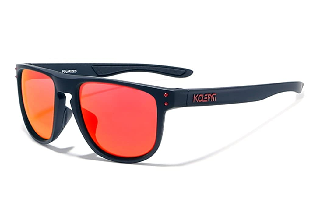 561aaa2e6d7 Amazon.com  KDEAM 5 Color Men TR90 Sport Polarized Sunglasses Outdoor  Driving Glasses New (C1)  Clothing