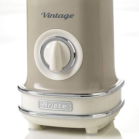 Ariete 568/04 Batidora de Vaso Vintage, 500 W, 1 Litro, 2 ...