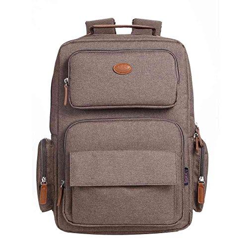 Travel Outdoor Computer Backpack Laptop bag 15.6'' (brown) - 2