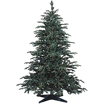 barcana 7 12 foot star fir pepvc ready trim christmas - 2 Foot Christmas Tree