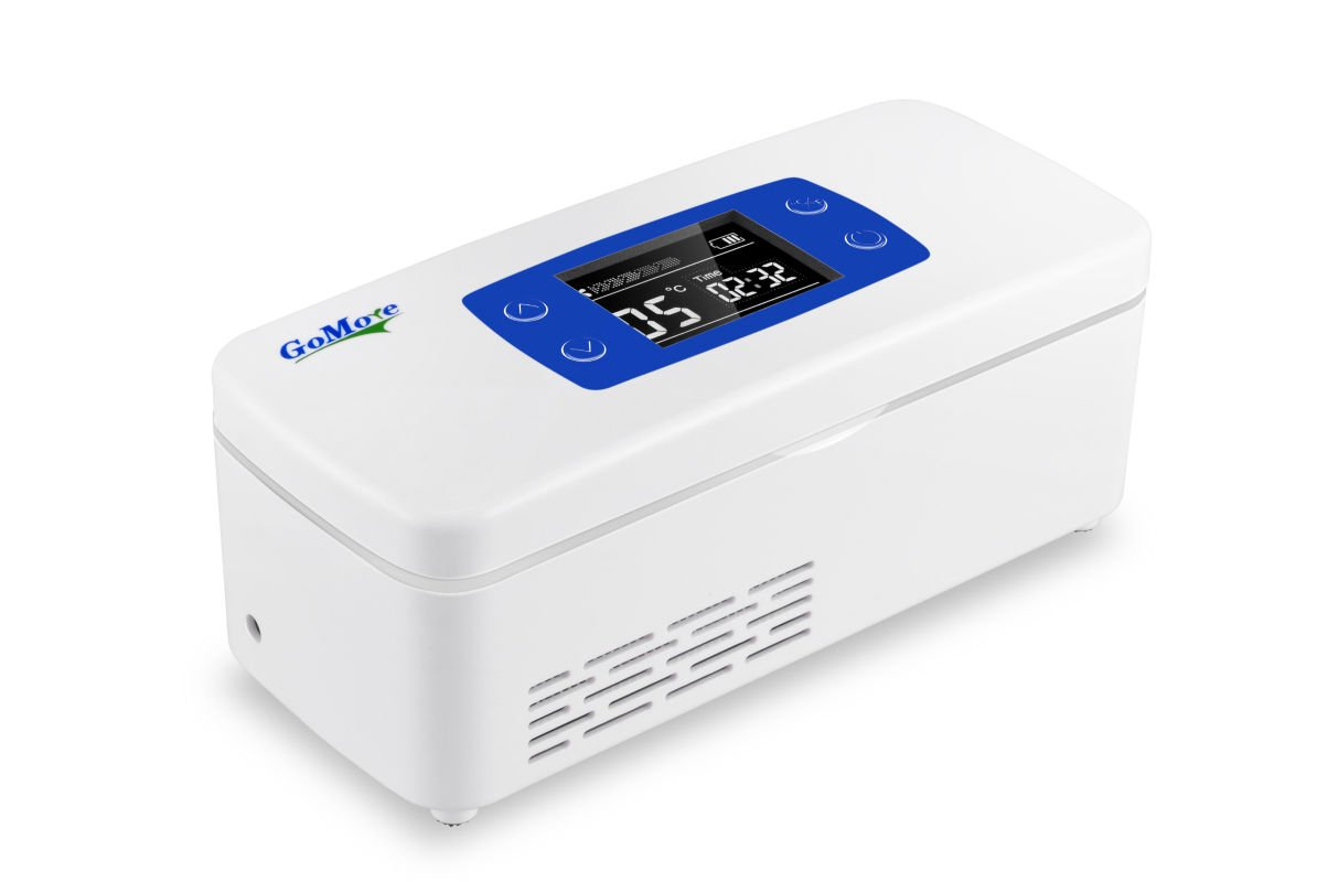 TOPCHANCES Mini Insulin Cooler Car refrigerator Refrigerate Box Drug Reefer 2-8°C