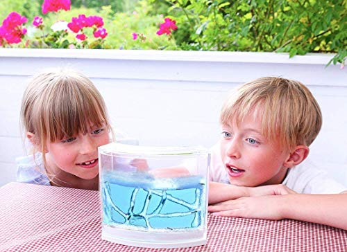 NAVAdeal Connecting Ant Farm Castle with Tubes, Habitat Educational & Learning Science Kit Toy for Kids & Adults - Allows Study of Ecosystem, Behavior of Ants within the 3D Maze of Translucent Gel by NAVADEAL (Image #5)