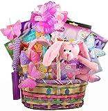 Butterflies and Bunnies Easter Basket for Girls