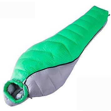 MIAO al aire libre Camping momia adultos saco de dormir de plumas bolsas -10 ~