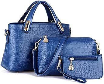 حقيبة للبنات-ازرق - مجموعة حقائب اليد