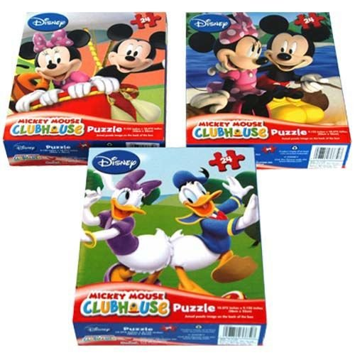 Price comparison product image Mickey Mouse Clubhouse 24 Piece Puzzle Assorted Styles