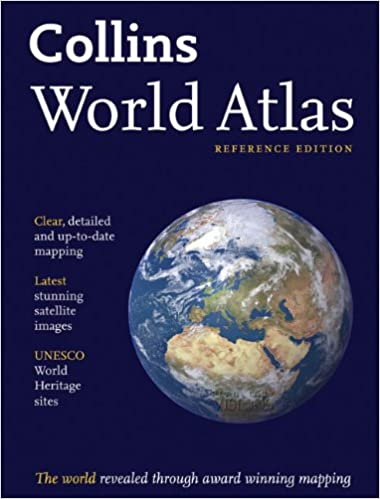 Amazonin Buy Collins World Atlas Reference Edition Book Online - Up to date satellite maps online