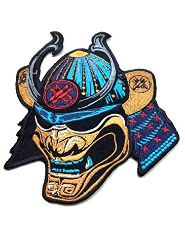 Ronin BJJ Emperor Samurai Patch - Premium Quality Jiu Jitsu Gi Kimono Patch - Intense Beautiful Coloring - 6 x 5 Inches Embroidered Patch - Ideal for Jackets and T-Shirts