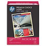 Wholesale CASE of 10 - HP Premium Choice Laser Paper-Laser Paper, 32 lb., 8-1/2''x11'', 98 Bright, 500/RM, White